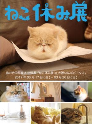 「ねこ休み展」in 大阪なんばパークス